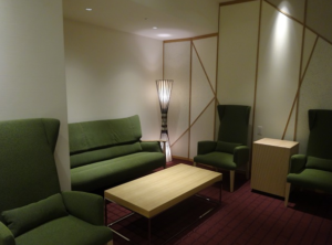 JCB Lounge 京都の室内
